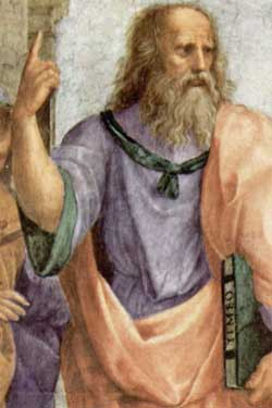 Plato, from Raphael's The School of Athens