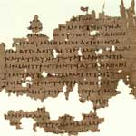 Papyrus fragment of Plato's Republic